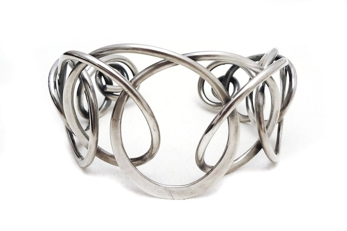 SteigH Coiled Cuff Front