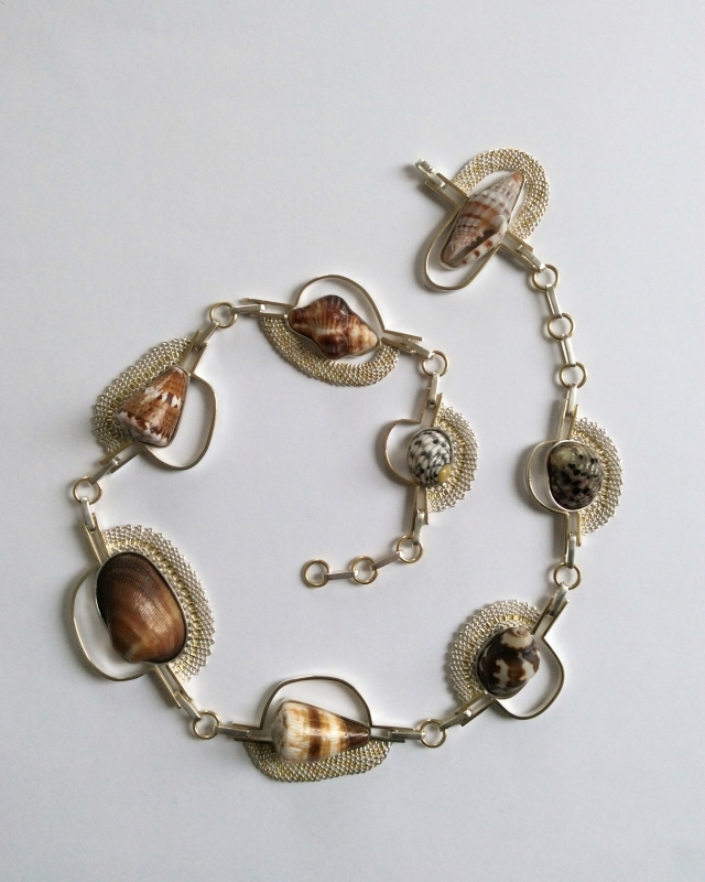 Exhibition Shell Necklace : Hanne behrens spotlight exhibition