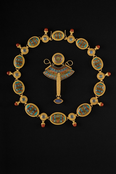 HellerM_AncientRhythmsI_Necklace_22KgoldCloisonneEnamel.JPG