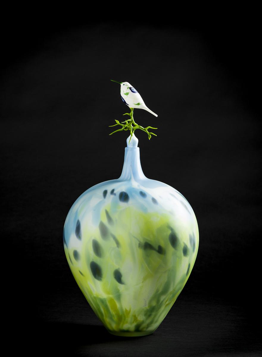 Floral Pot with Hummingbird.jpg