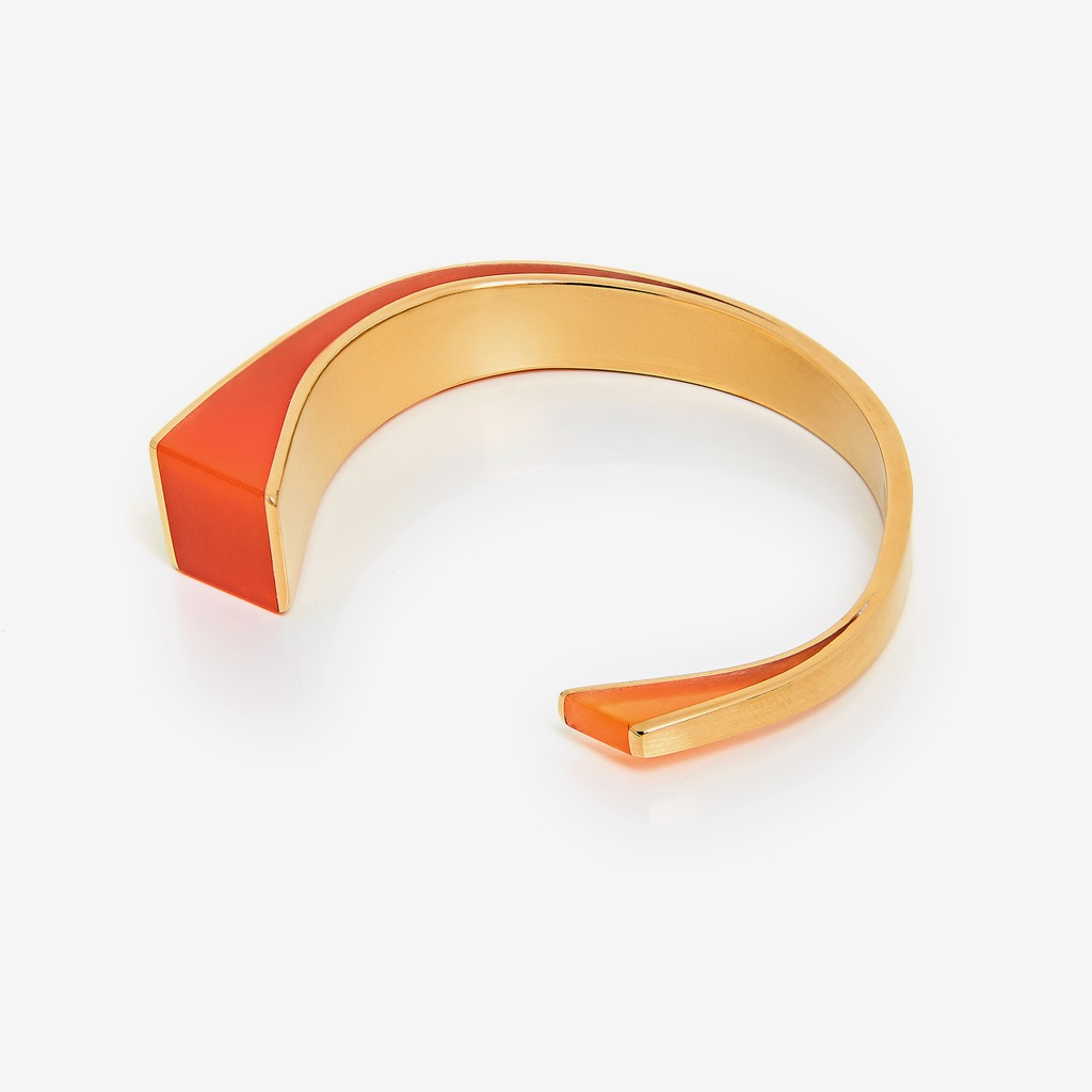 10. U.F.O Accessories Banded for the wrist in glowing orange 2.jpg
