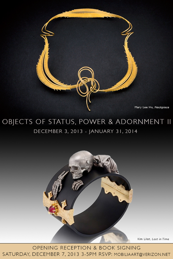 Objects of power and beauty for Mobilia gallery cambridge ma